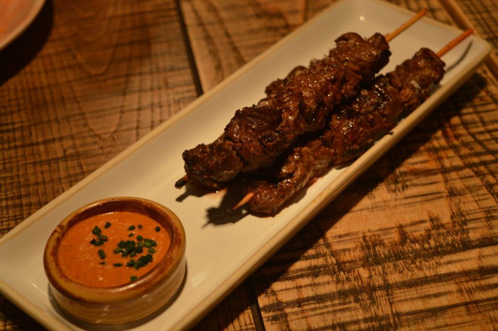 Beef skewers Tapas Revolution