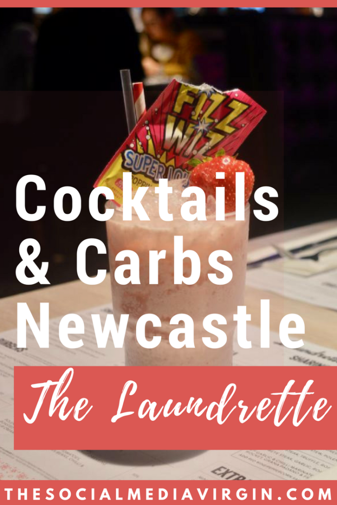 Fizz Wizz Shake | Cocktails & Carbs at The Laundrette Newcastle | The Social Media Virgin | Mature Lifestyle Blog