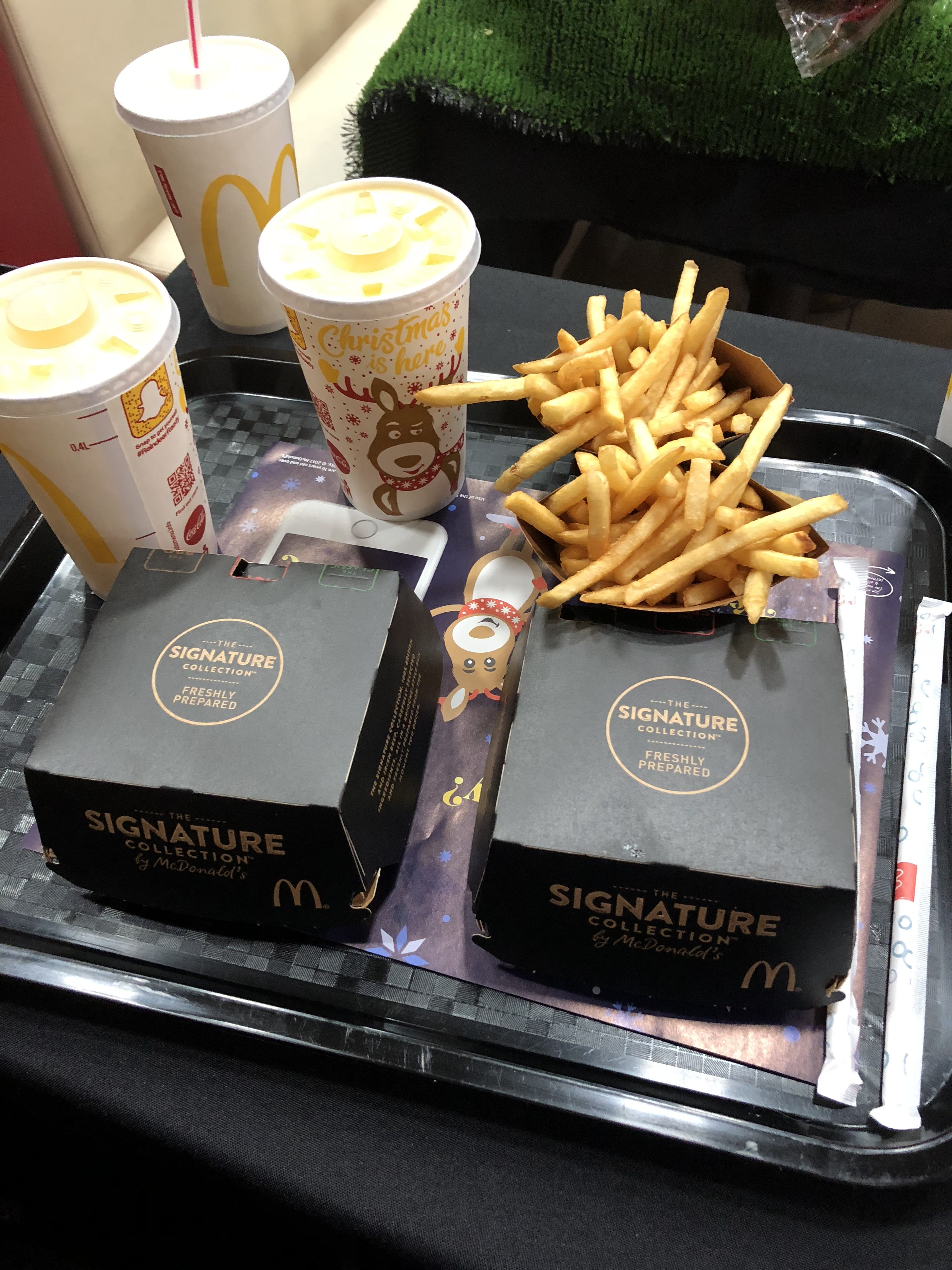 McDonalds Signature Meal Deal | The Social Media Virgin | Mature Lifestyle Blog
