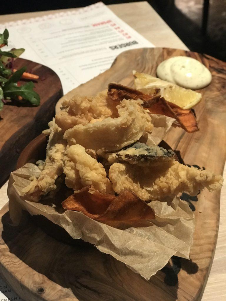Frito calamari Laundrette Newcastle