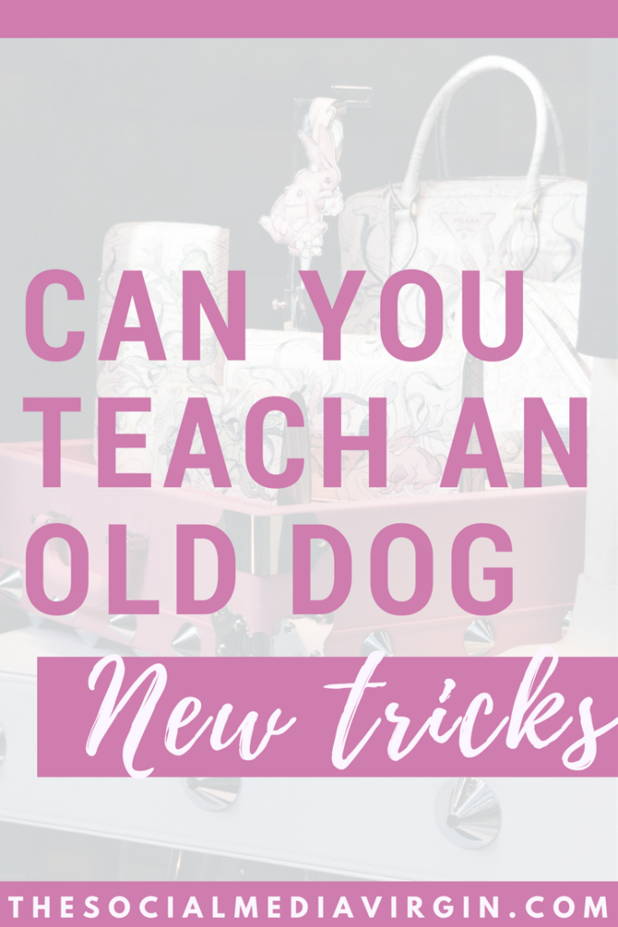 Can you teach an old dog new tricks? | Learning how to make money online and grow a digital business | The Social Media Virgin Mature Lifestyle Blog