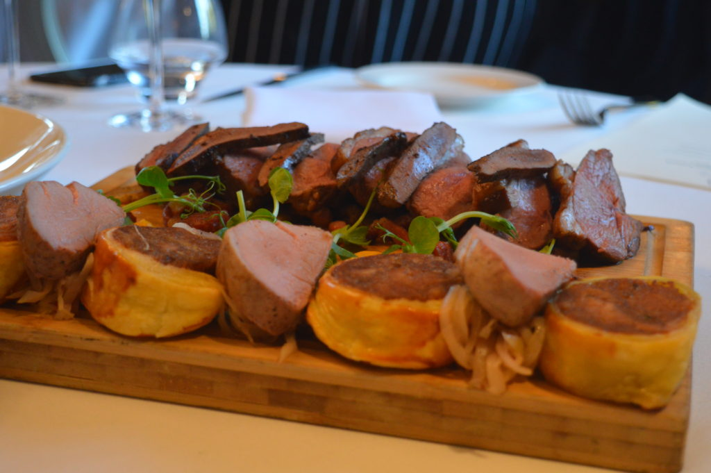 Lambs Liver & Beef Wellington | Matfen Hall Country Spa & Hotel Northumberland | Summer Menu Review | The Social Media Virgin - a travel and food blog for the mature female