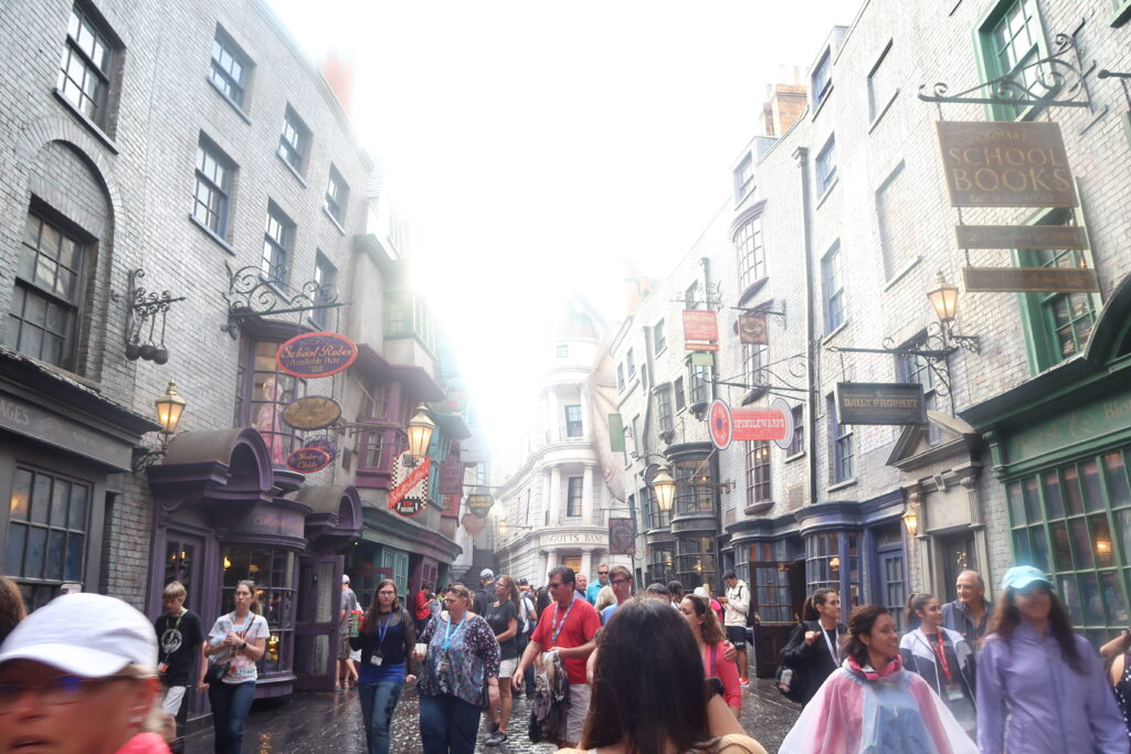 Diagon Alley, Harry Potter | Top tips for visiting Universal Studios or Universal Islands of Adventure Florida with kids | Travel Guide | The Social Media Virgin