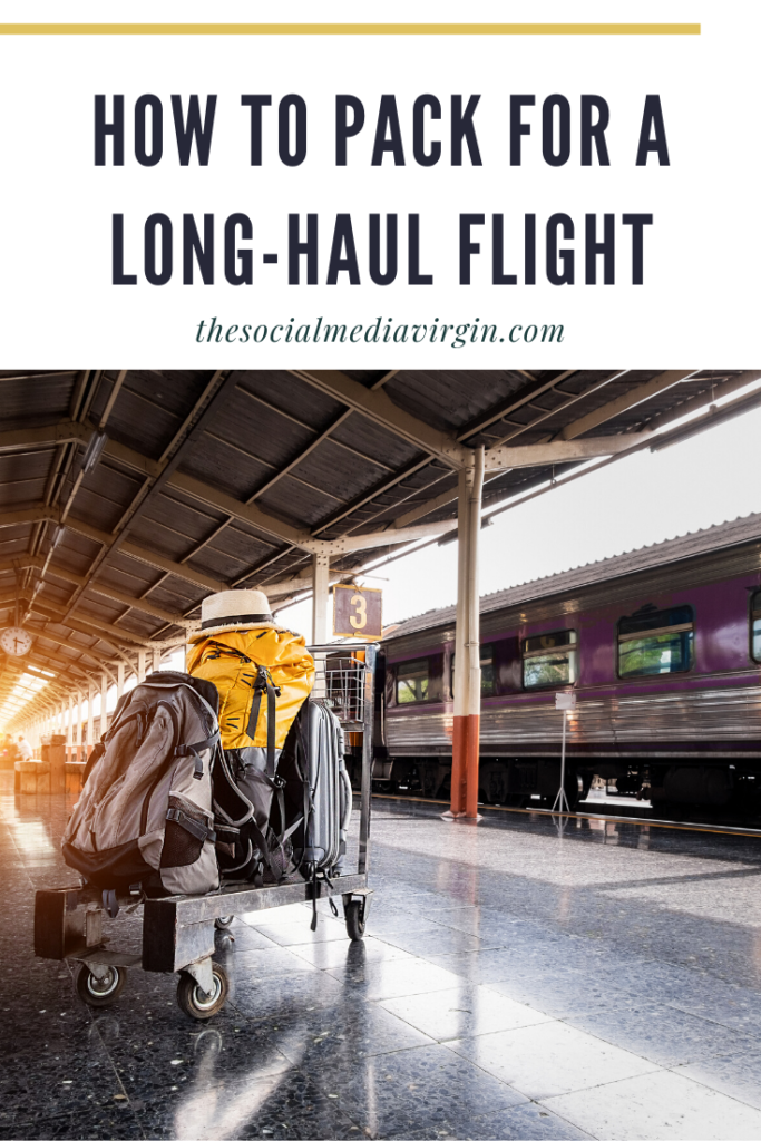 Tips for packing your suitcase on a long haul fliught | Travel guide | The Social Media Virgin