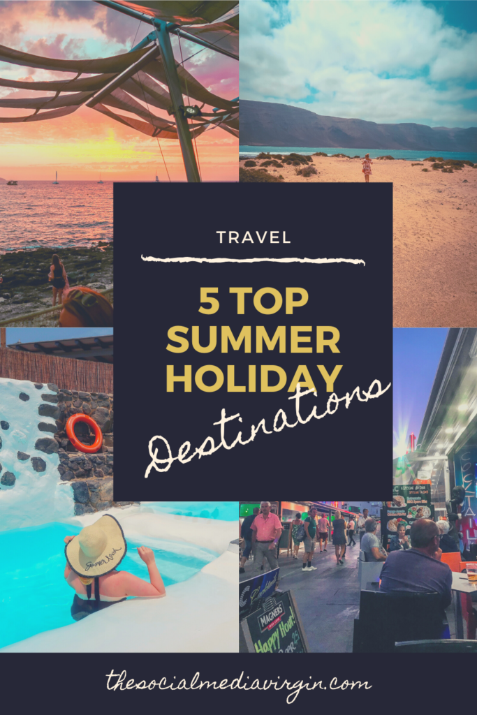 Top 5 summer holiday destinations you must visit | Travel guide | The Social Media Virgin