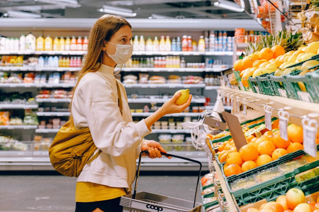 Supermarket PPE | 5 Top Tips For Wearing A Face Mask | The Social Media Virgin Luxury Lifestyle & Travel Blog